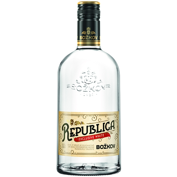 Rum Republica Exclusive White Božkov 0,7l 38%