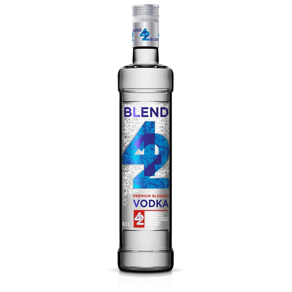Vodka 42 Blended 0,5l 42% Granette