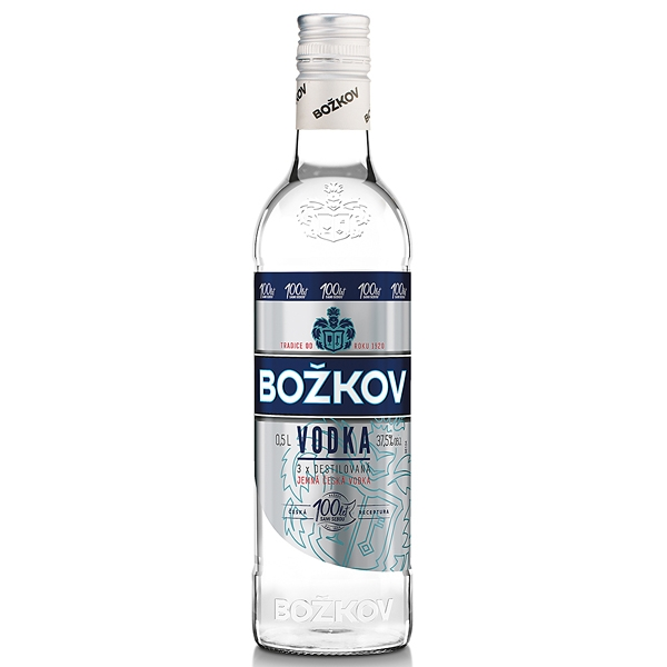 Vodka 0,5l 37,5% Božkov