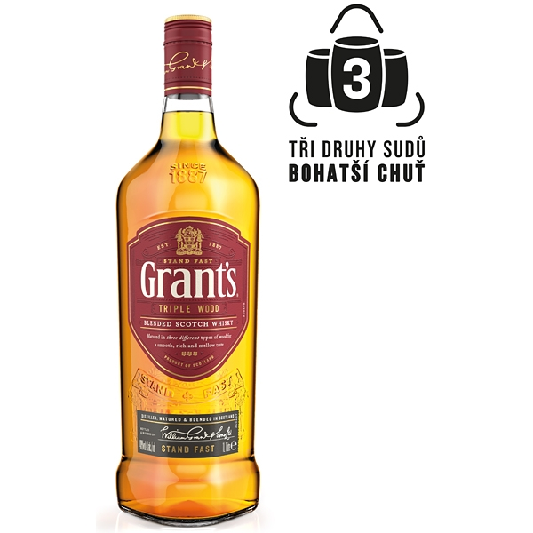 Whisky Grants 1l 40%