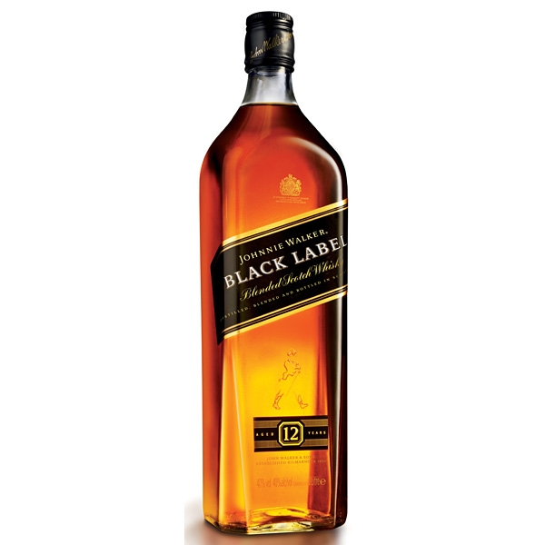 Whisky Johnnie Walker Black 1l 40%