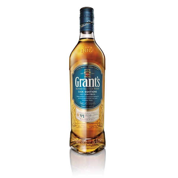 Whisky Grants Ale Cask 0,7l 40%