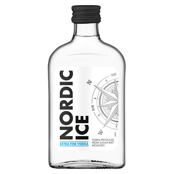 Vodka Nordic Ice 0,2l 37,5% Dynybyl