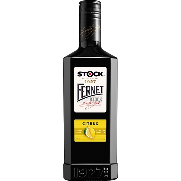 Fernet Citrus 0,5l 27% Stock