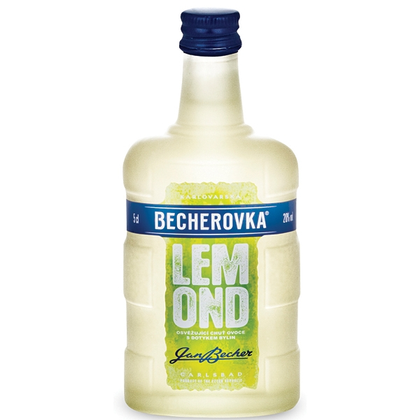 Becherovka Lemond 0,05l 20% Mini