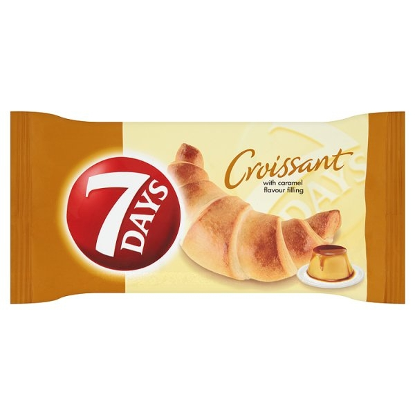 Croissant Single 60g Caramel 7Days 20/BAL