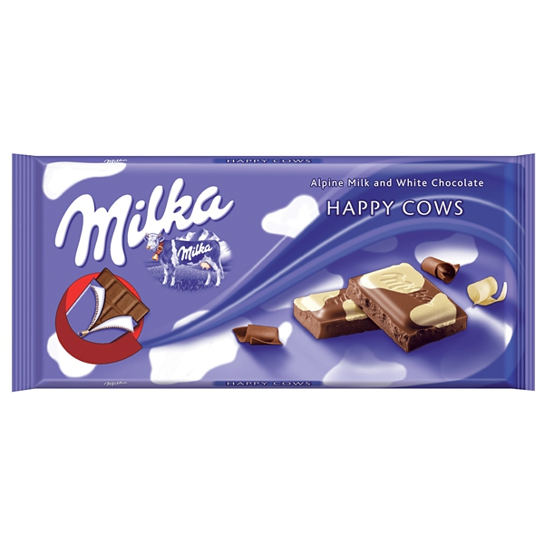 Milka Happy Cows 100g 23/BAL
