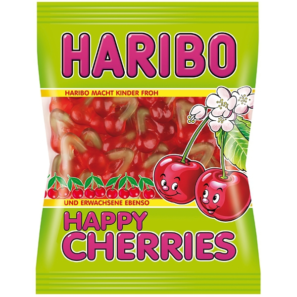 Haribo Happy Cherries 100g 30/BAL