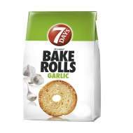 Bake Rolls Garlic 80g 7Days