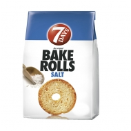 Bake Rolls Natural 80g 7Days 14/BAL