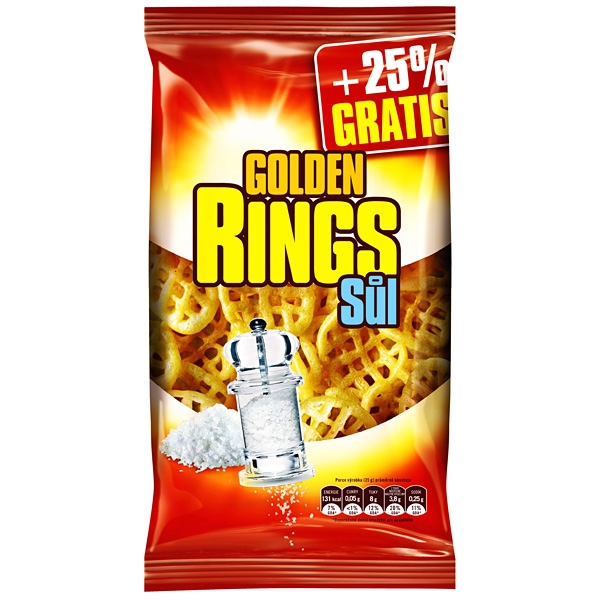 Golden Rings Solené 80g+25% Snack