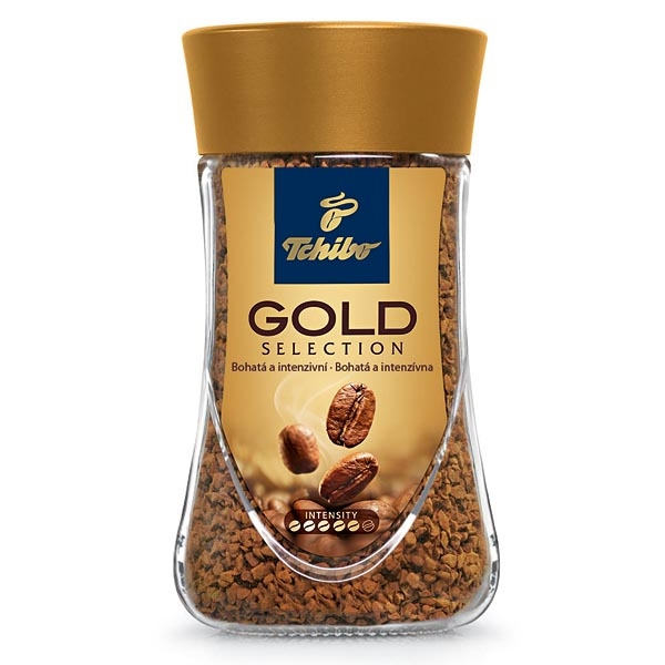 Káva Tchibo Gold Selection Instant 200g
