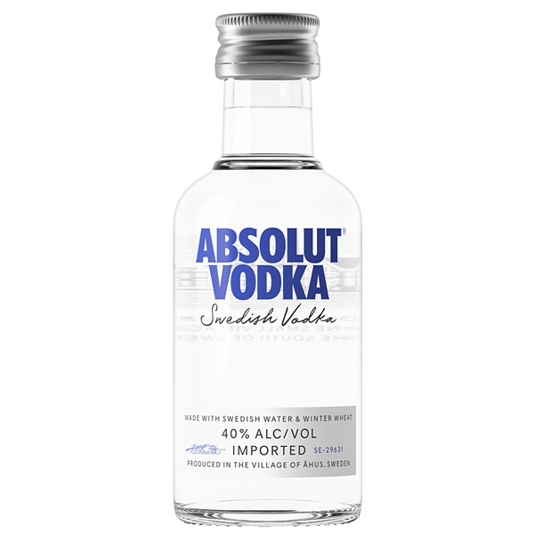 Vodka Absolut 0,05l 40% Mini