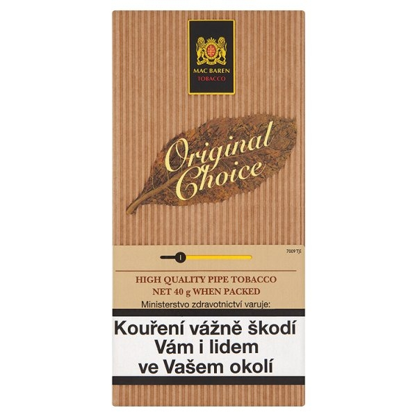 Tabák Mac Baren Original Choice 40g