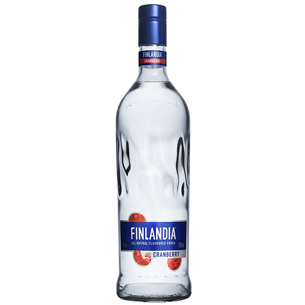 Vodka Finlandia Cranberry Clear 1l 37,5%