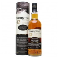 Tomintoul 12YO Oloroso 0,7l 40% Finish Single Malt Scotch Whisky