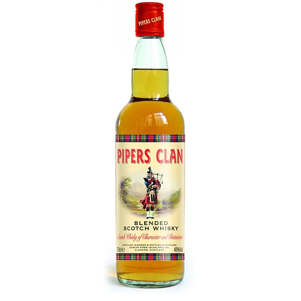 Pipers Clan Blended Scotch Whisky 0,7l 40%