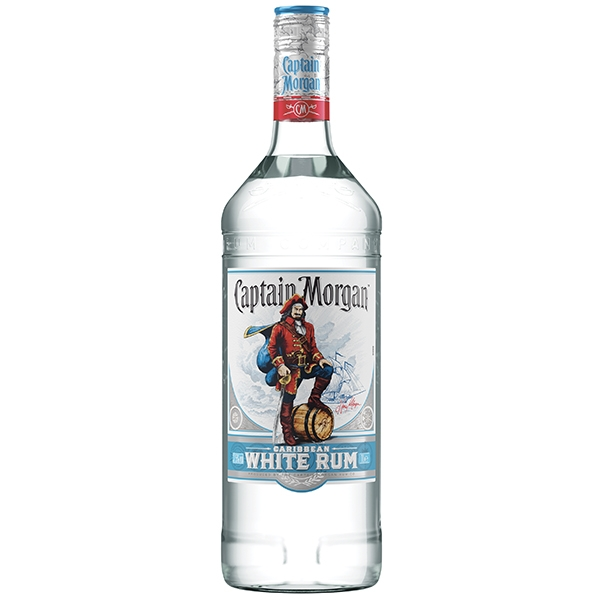 Captain Morgan White Rum 1l 37,5%