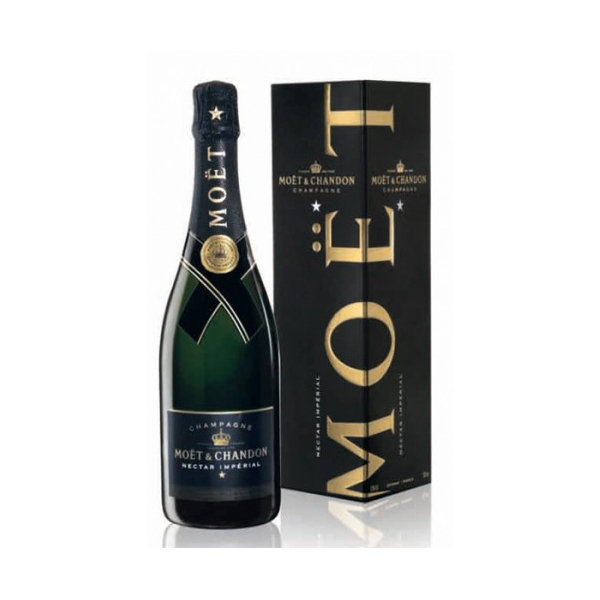 Champagne Moet&Chandon Nectar Imperial 0,75l Giftbox