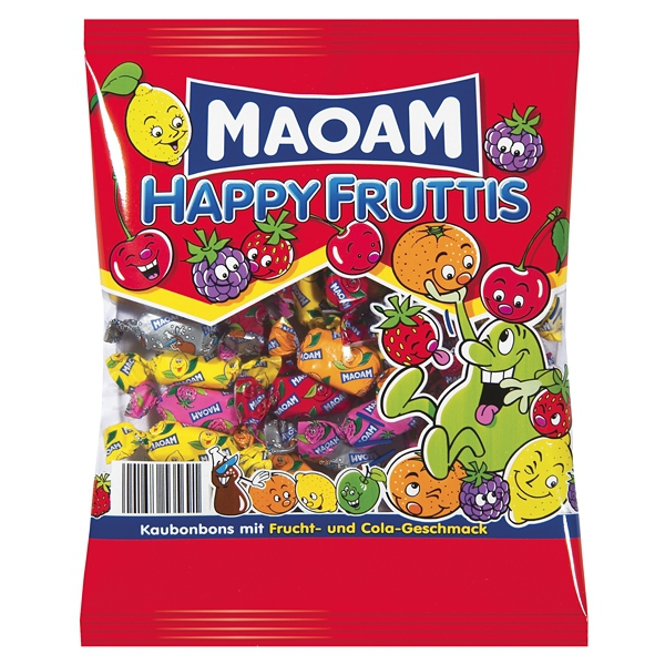 Maoam Happy Fruttis 100g karamely 30/BAL