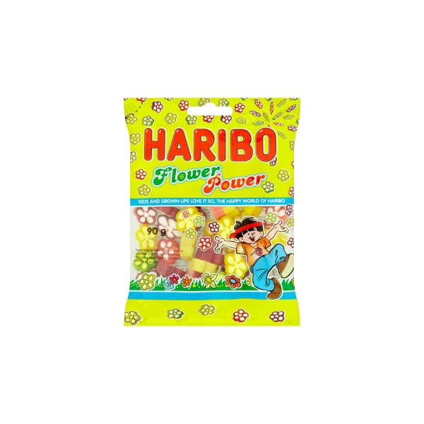Haribo Flower Power 90g 30/BAL