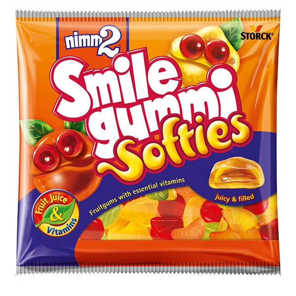 Nimm2 Smile Gummi Softies 90g 18/BAL