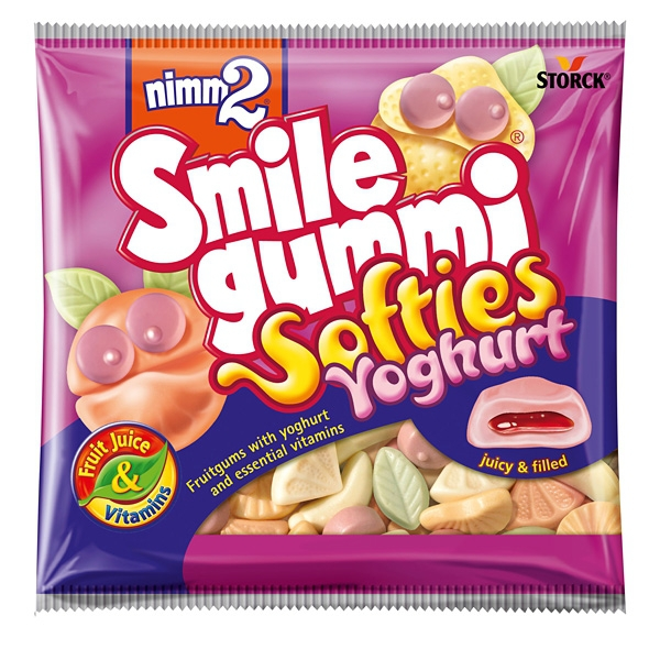 Nimm2 Smile Gummi Softies Jogurt 90g 18/BAL