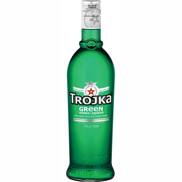 Vodka Trojka Green 0,7l 17%