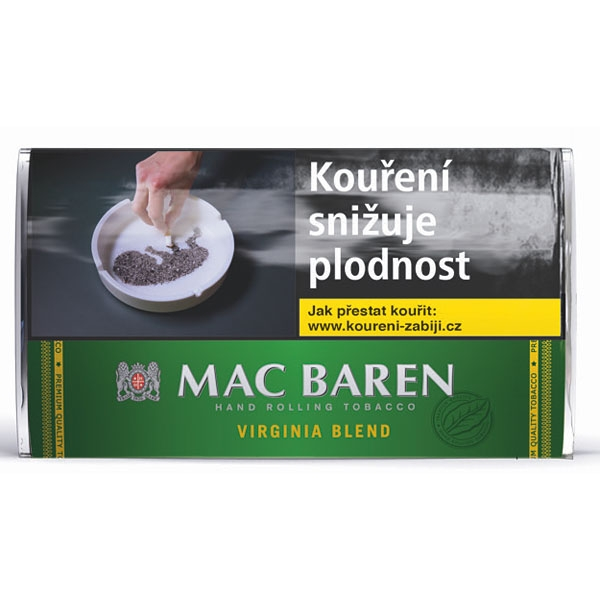 Tabák cigaretový Mac Baren Virginia Blend 30g SO