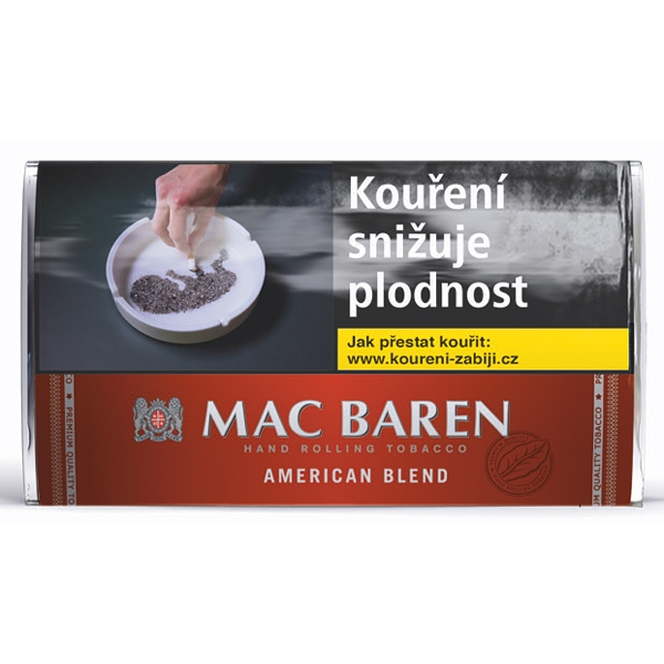 Tabák cigaretový Mac Baren American Blend 30g SO