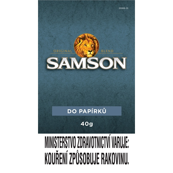 Tabák cigaretový Samson Dark Blend 40g SO