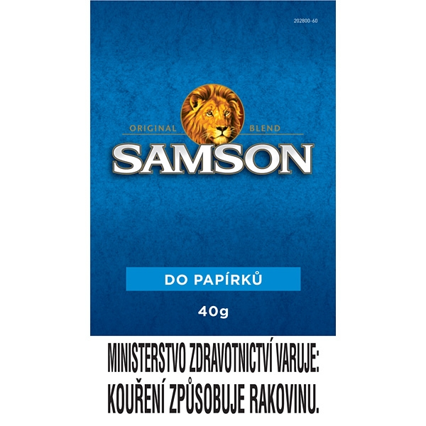 Tabák cigaretový Samson Original Blend 40g SO