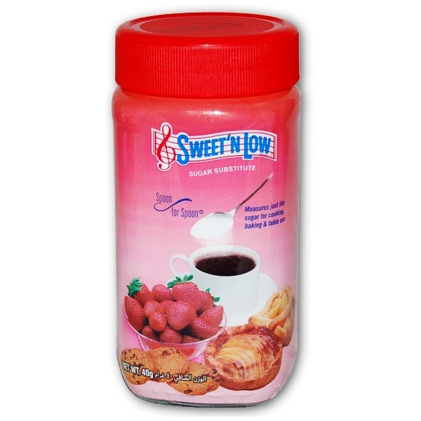 Sweet\'n Low Spoon for Spoon - Cukr ve skleněné dóze 40g
