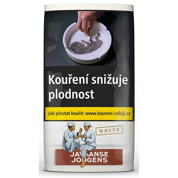 Tabák cigaretový Javaanse Jongens White 40g SO