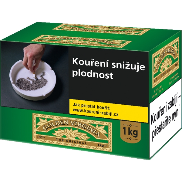Tabák cigaretový Golden Virginia 1000g
