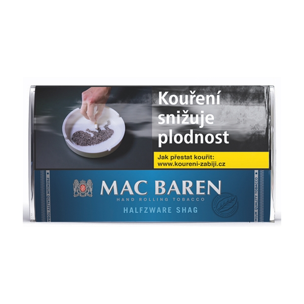 Tabák cigaretový Mac Baren Halfzware 30g SO