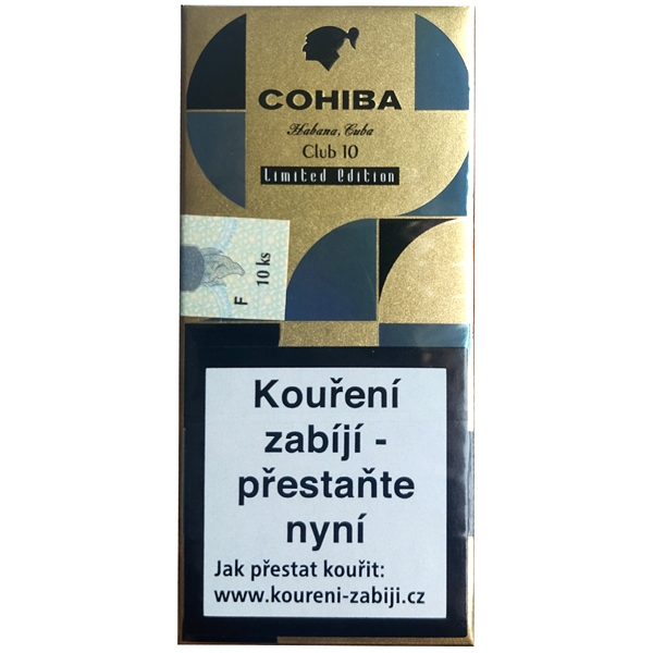 Doutníky Cohiba Mini Collection 10ks SO
