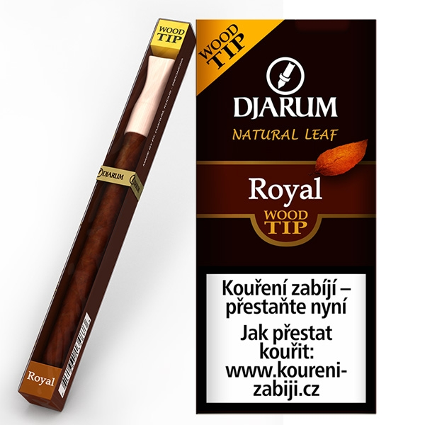 Doutníky Djarum Wood Tip Royal 5ks