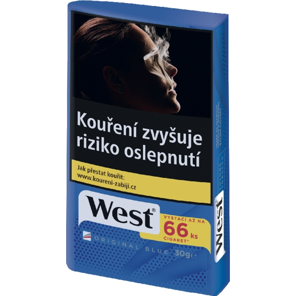 Tabák cigaretový West Blue 30g