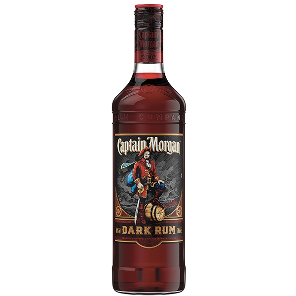 Captain Morgan Black Jamaica Rum 0,7l 40%