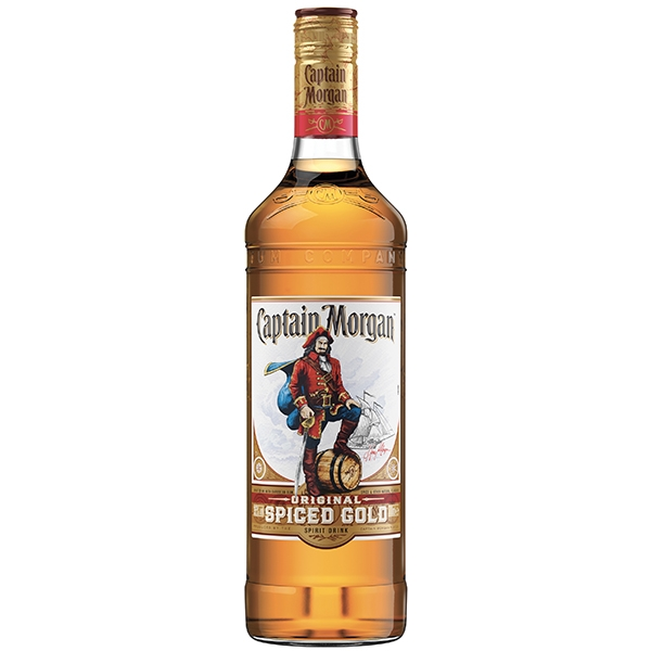 Captain Morgan Spiced Gold 0,7l 35%