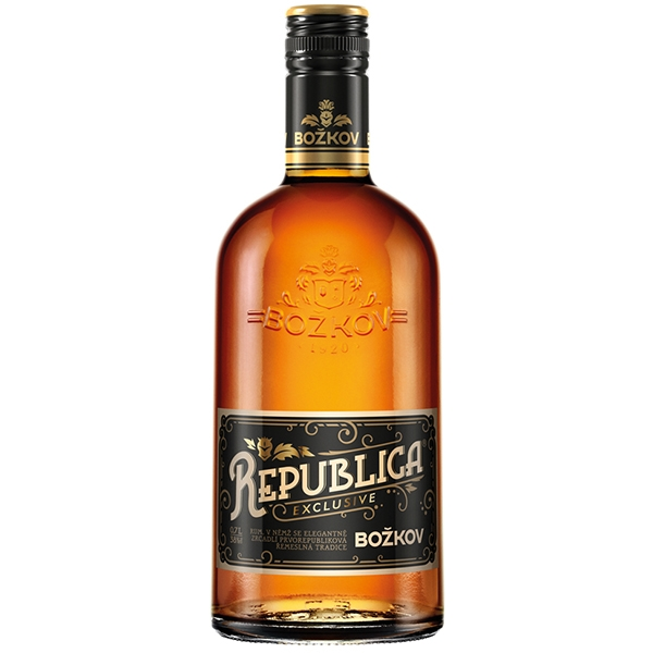 Rum Republica Exclusive Božkov 0,7l 38%